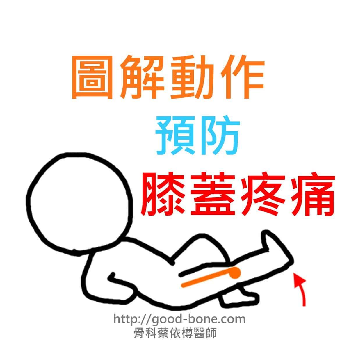 圖解動作預防膝蓋疼痛 台中骨科蔡依樽醫師https://good-bone.com